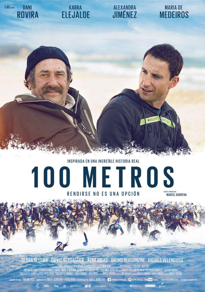 Póster oficial de '100 metros' / FILMAX