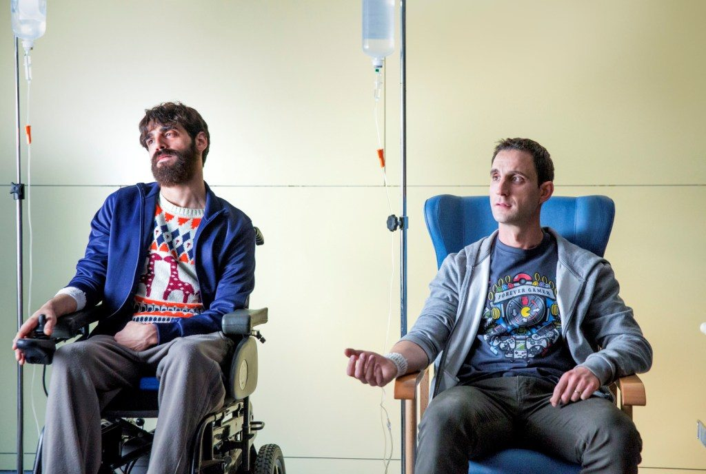 David Verdaguer y Dani Rovira en '100 metros' / FILMAX