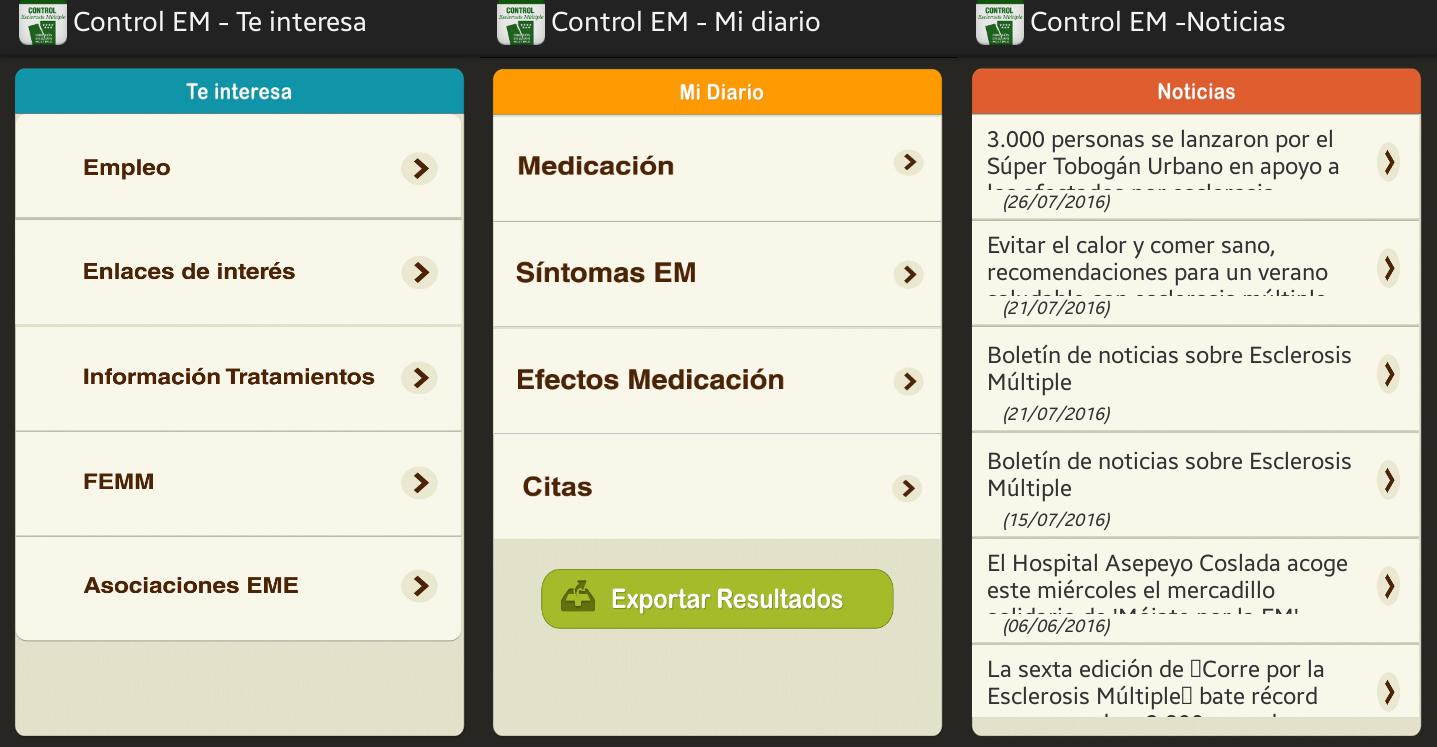 Captura de 'Control EM'