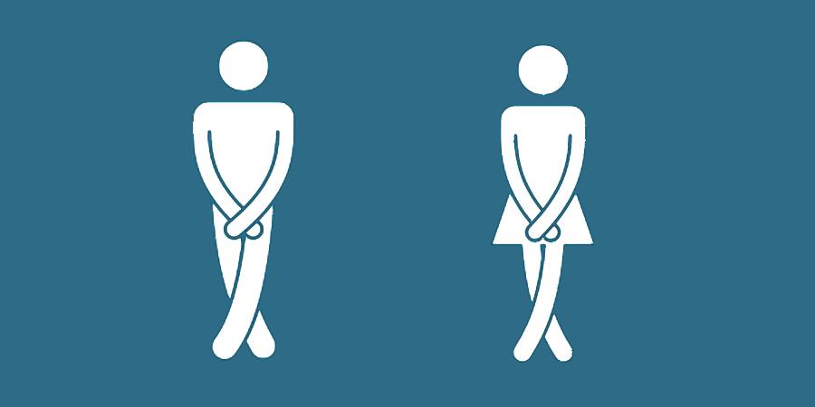 abdominales débiles y micción frecuente